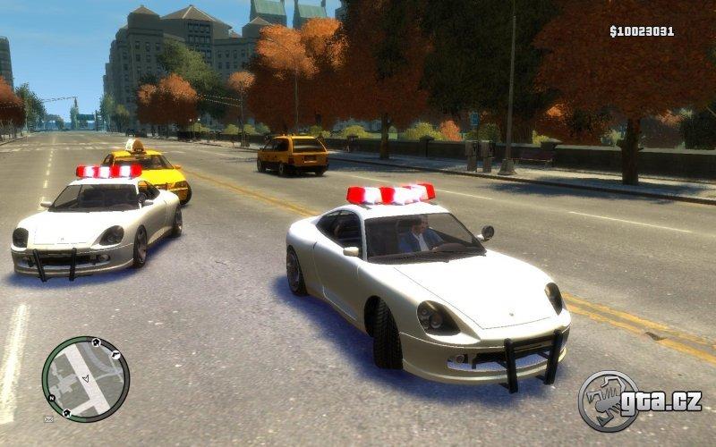 Secret police cars gta 4 tbogt