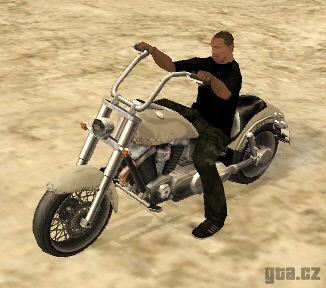 Motorbikes in GTA SA.