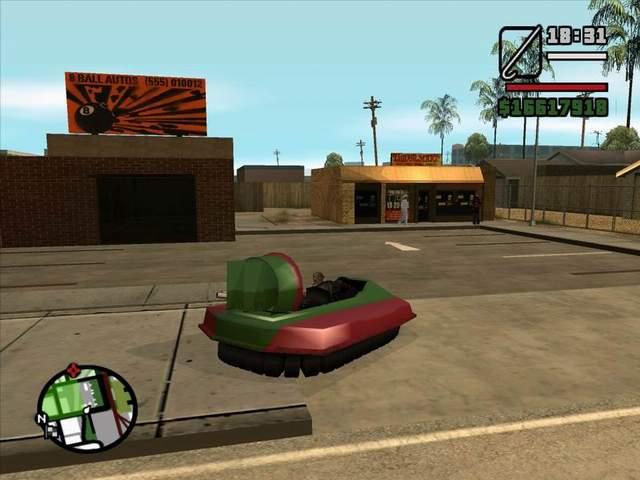 GTA San Andreas (english version)