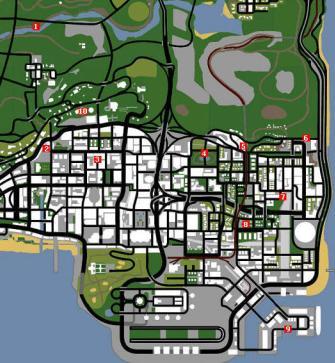 Police Stars Gta Sa Grand Theft Auto San Andreas On