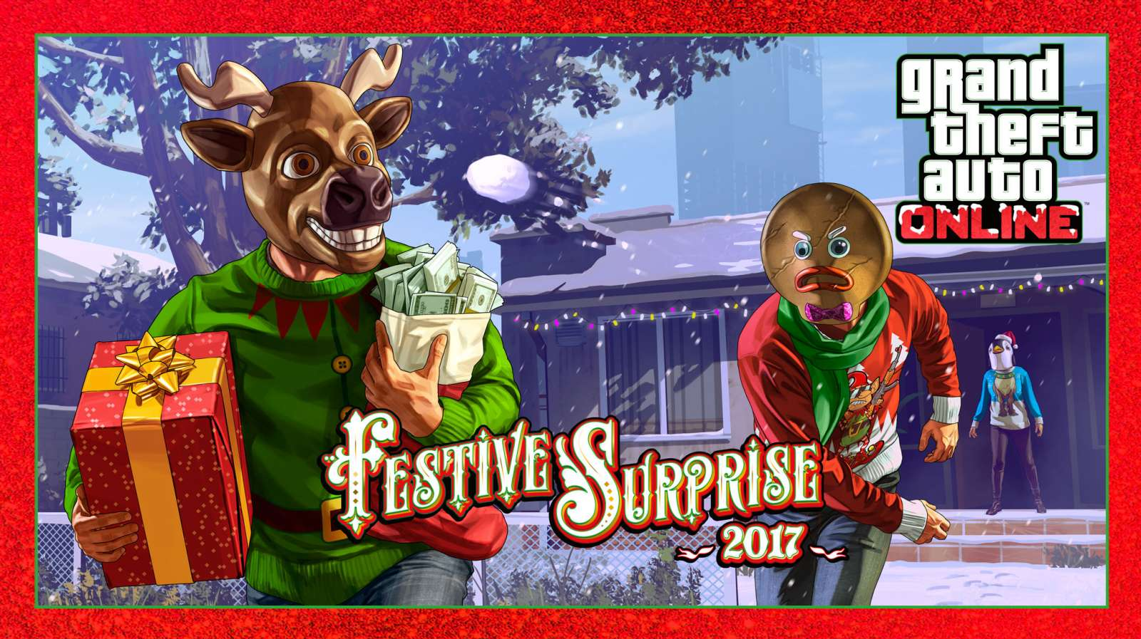 Vánoce v GTA Online! Festive Surprise je tady! Miroslav Biarinec 401934954dd