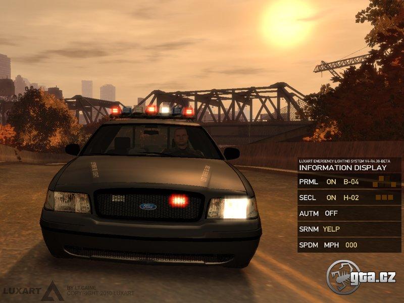 ELS, Ambulances and a Fire Truck, ASI Mods - GTA 4 / Grand