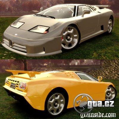 Bugatti EB110.