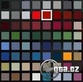 Nahradí súbor carcolors.dat (nové farby všetkých áut) v štýle GTA IV