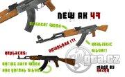 Nová textura pro AK-47.