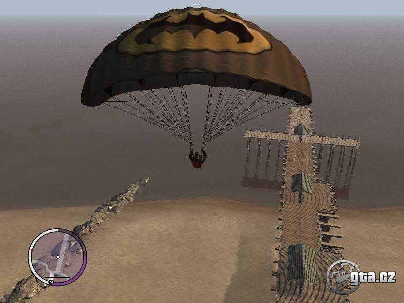 You can use Batman, Venom, Wonder Women etc logos to your parachute.