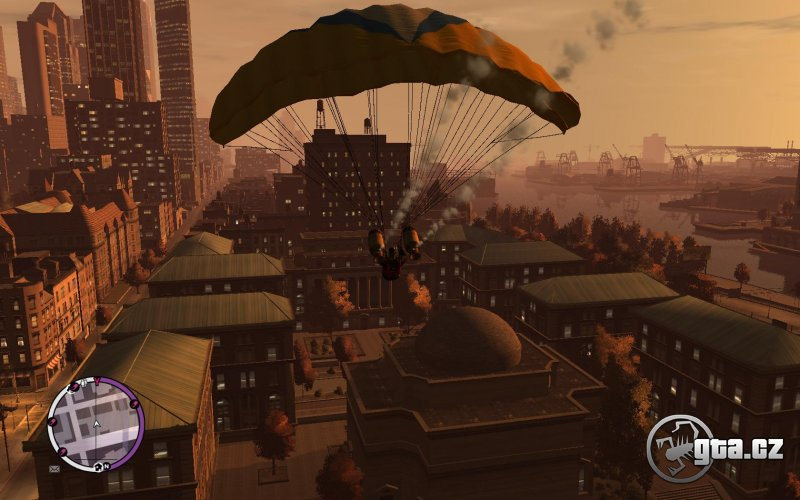With this mod you have nitros on your parachute and you can shoot rockets from it.