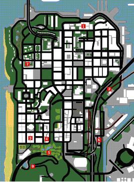 Police Stars - GTA SA / Grand Theft Auto: San Andreas - on