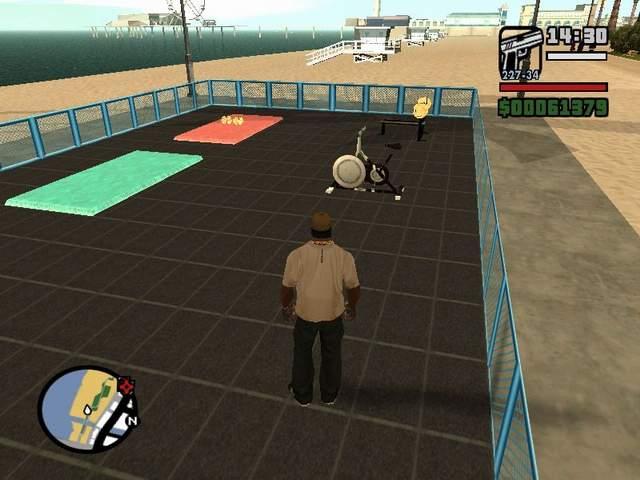 Physical Exercises - GTA SA / Grand Theft Auto: San Andreas