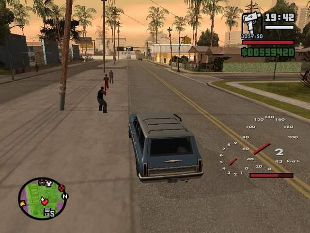 Speedometer for GTA: SA - GTA SA / Grand Theft Auto: San
