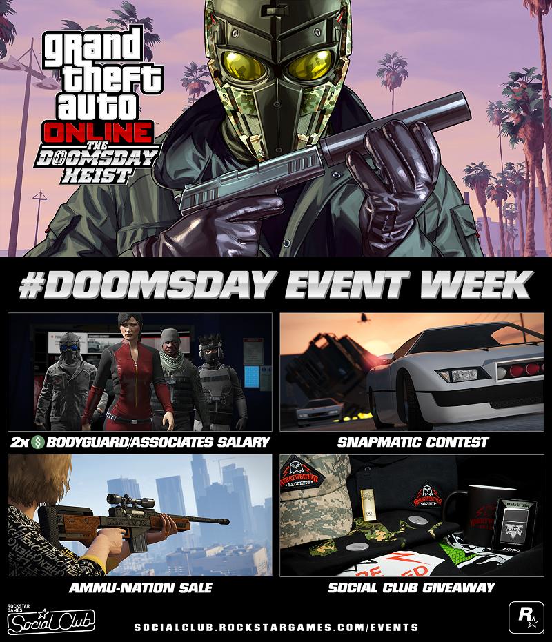 gta 5 online doomsday update