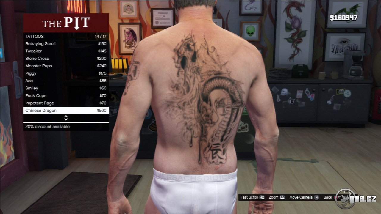 Tattoo - Trevor - GTA V / Grand Theft Auto 5 - on Gta cz