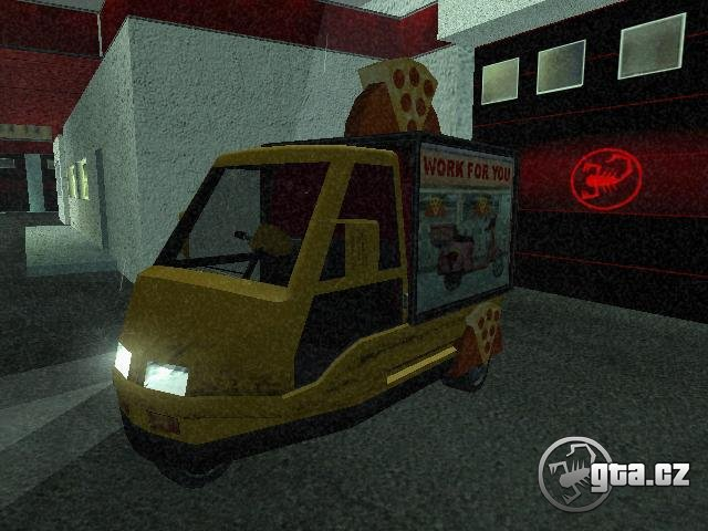 New pizza car