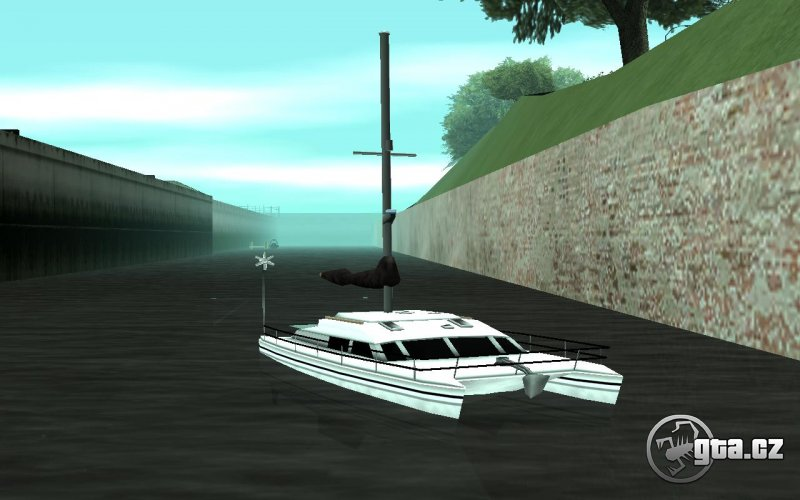 Konverzia lode Rio z GTA Vice City