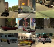 Pack of cars and weapons from GTA United