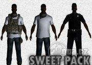 Vylepšený vzhľad Sweeta + skin vojaka a policajta
