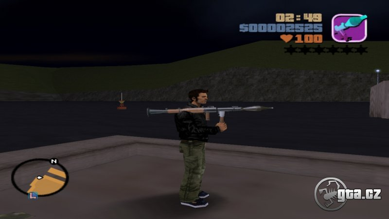 Pack modelov UZI, Shotgunu, granátu, RPG, molotovho koktejlu, snajperky, Krugera, M60 a obuška z GTA:VC