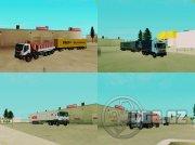 Pack 10 modelov nákladných prívesov