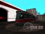 Tramvaj má přístupný interiér