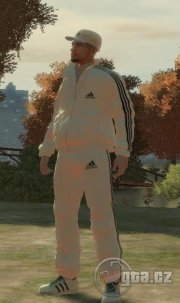 White Adidas Pack Mod and more    - GTA 4 / Grand Theft Auto