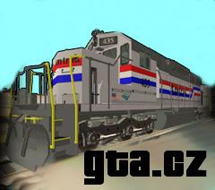 modely Amtrak Reefer - Freibox, Amtrak Reefer - Freiflat, Amtrak Schilder Kartons Kisten, SD40 Streak