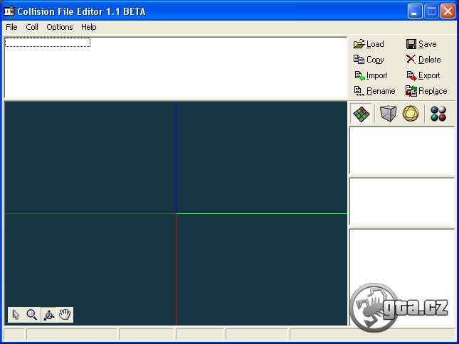 The second useful program for creation of a COL file.