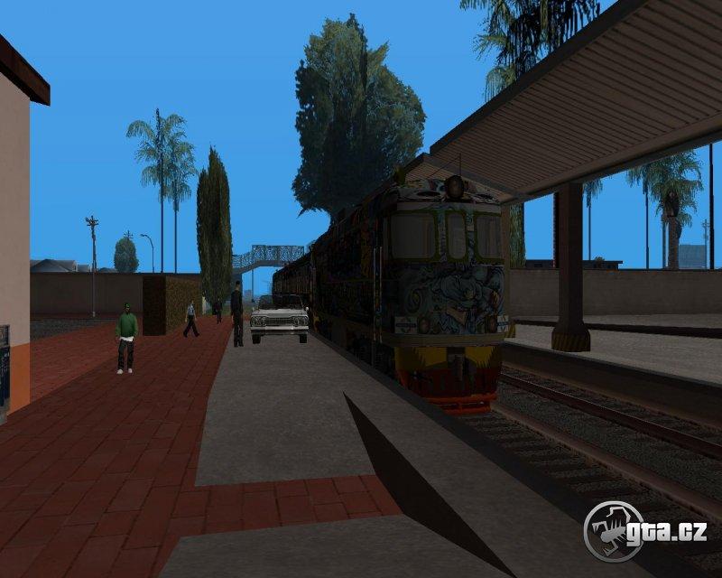 Download Train models - GTA SA / Grand Theft Auto: San