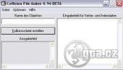 Program pro tvorbu COL souboru. Verze 0.96 BETA.