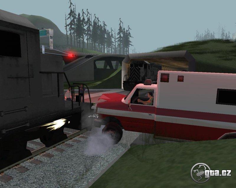 Crazy trains at SF train crossing!