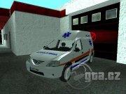 Netradičné vozidlo ambulancie