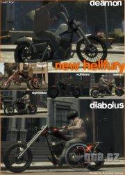 Motorky z DLC.
