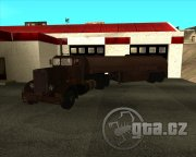 Truck and trailer from