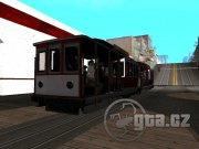 Zpřístupní interiér klasické tramvaje který navíc osadí cestujícími.