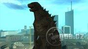 Godzilla ze stejnojmenného filmu z roku 2014