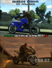 Skvělá motorka Suzuki GSX-R i ve vašem GTA IV. 