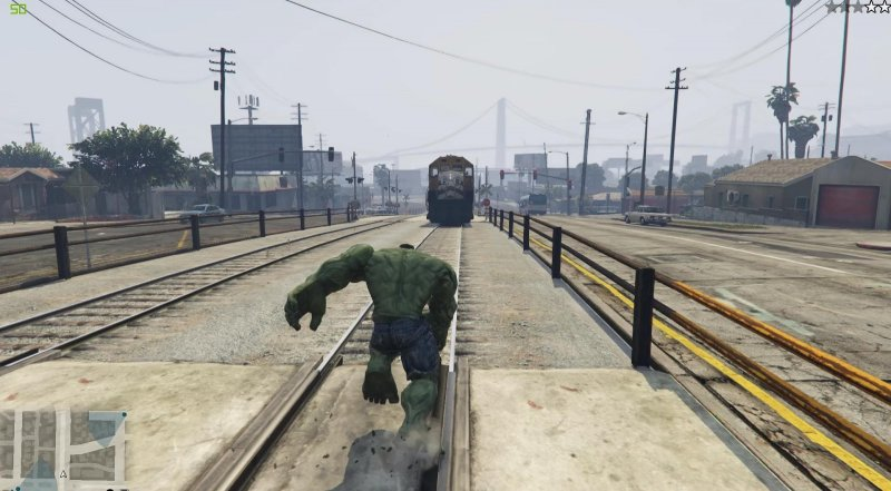 Download GTA V PC - HULK script mod - GTA V / Grand Theft Auto 5