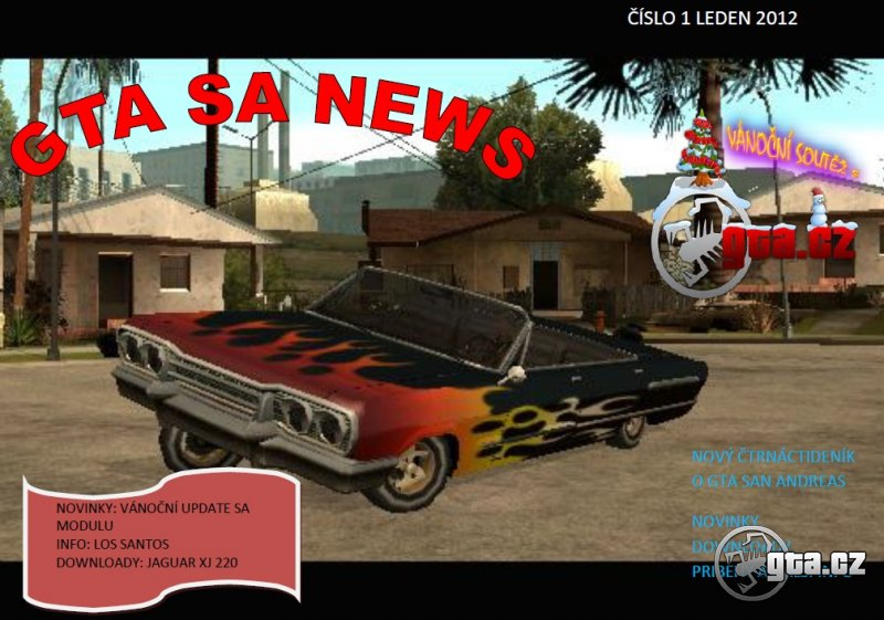 The first volume GTA magazine