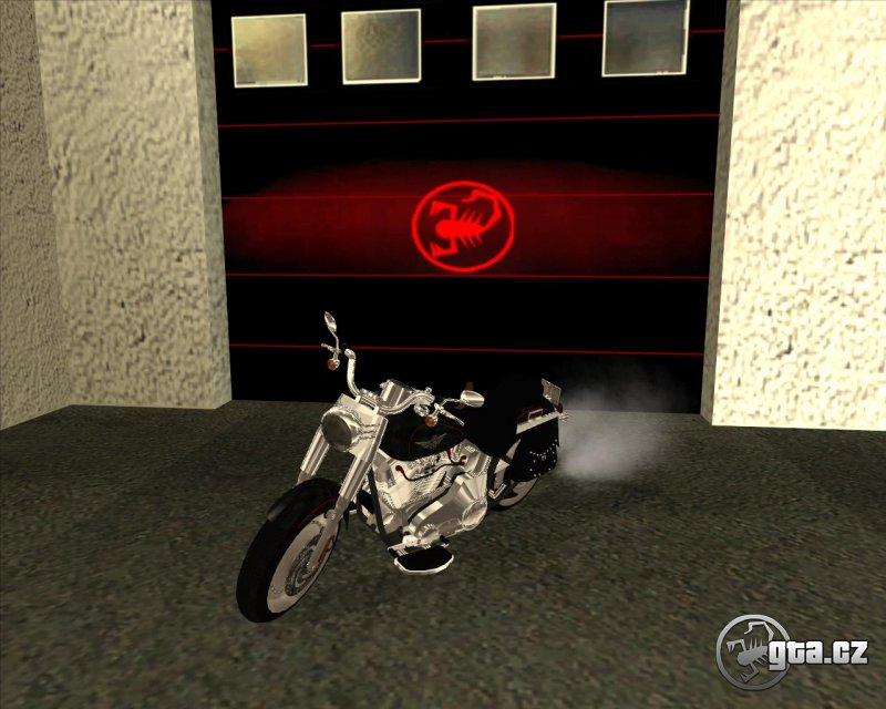 Motorbike from the movie: