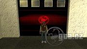 Hlavní postava ze hry Hotline Miami