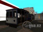 Nový skin pro klasickou tramvaj (nemá přístupný interiér - nahrazuje se jen txd)