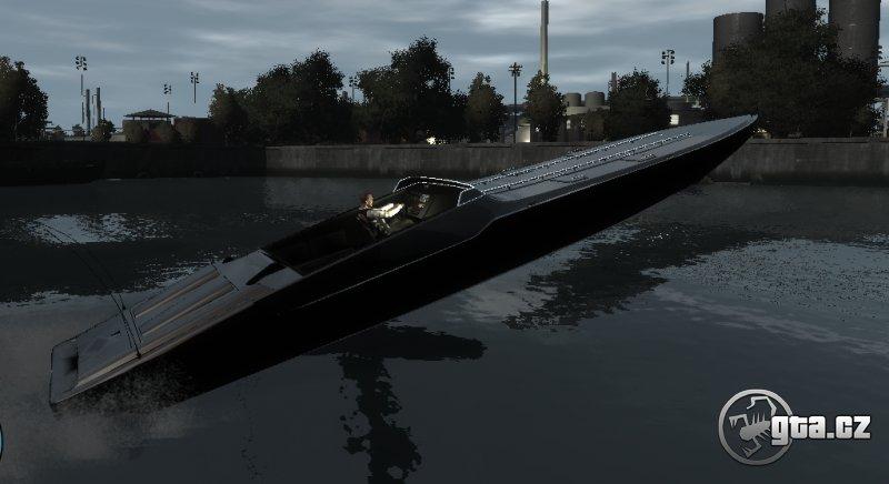 Loď  z ELFC do GTA IV