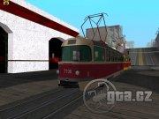 Nová verze známé tramvaje, má i přístupný interiér. Nezapomeňte vložit Handling, jinak vám bude tramvaj létat!