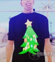 Tričko s Vánočním stromkem