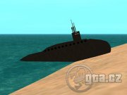 This submarine, unfrotunately, can´t sink down.