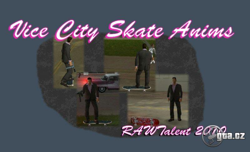 Download Vice City Skateboarding Mod - GTA VC / Grand Theft