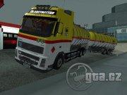 Model kamiónu aj s návesom firmy AGIP