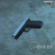 Modifikace pistole Glock, vrchní díl je nově bílý