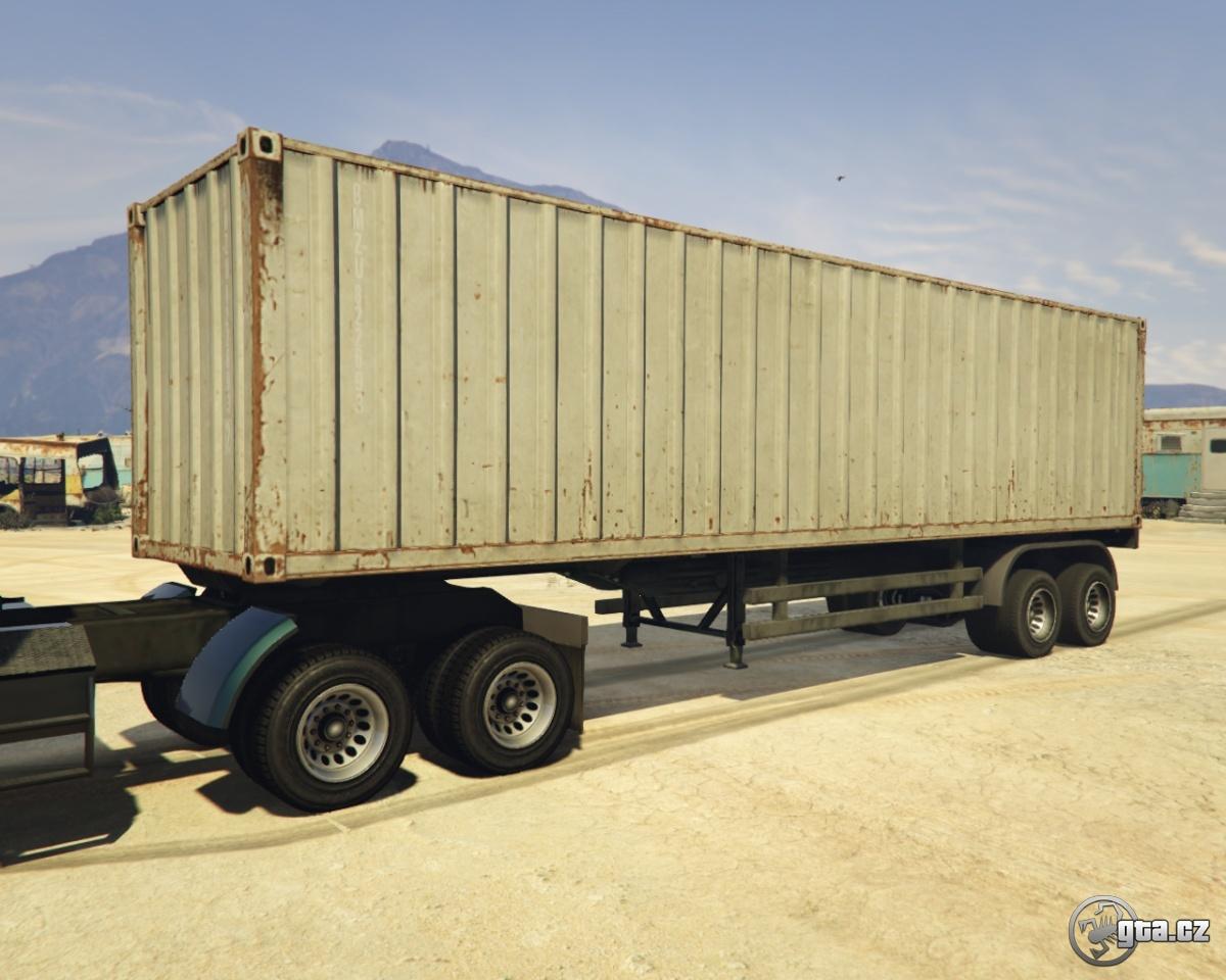 trailer container trailer gta v grand theft auto 5 on. Black Bedroom Furniture Sets. Home Design Ideas