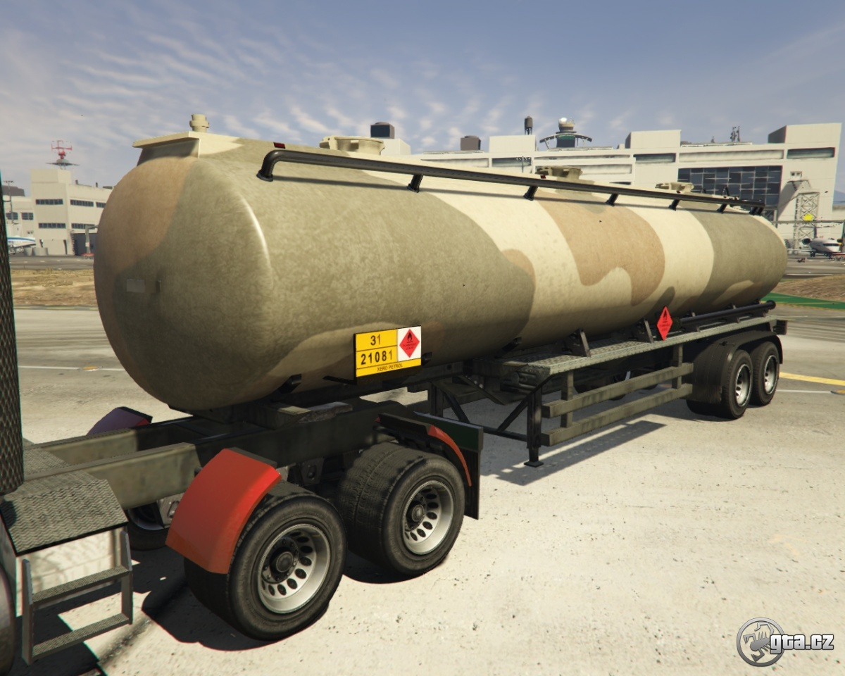 trailer tanker trailer army gta v grand theft auto 5 on. Black Bedroom Furniture Sets. Home Design Ideas