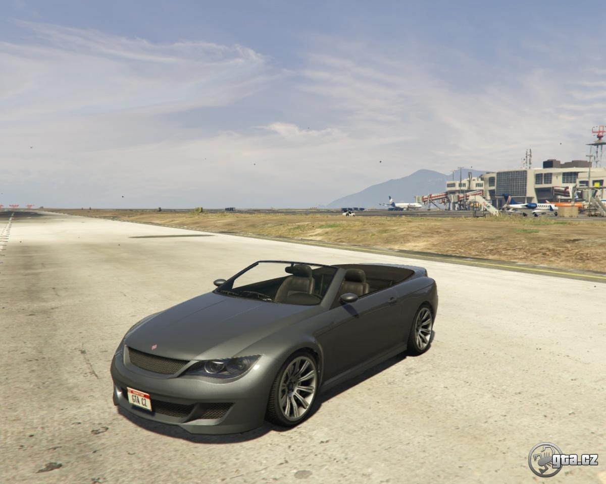 Ubermacht Zion Cabrio - GTA V / Grand Theft Auto 5 - na Gta.cz Ubermacht Zion Cabrio Gta 5